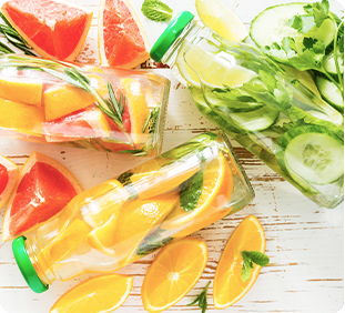 Hydrate with Infused Water